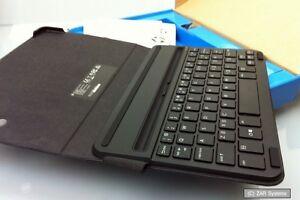 New HP Pro 8 Wireless BlueTooth Keyboard and Folio Case Black K4U64AA#ABA K4U64A
