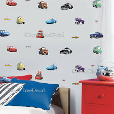 Disney Cars 28PC Kids Wall Decal Art Stickers Boy Girl Nursery Decal Mural