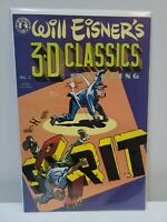 Will Eisner's 3-D Classics Featuring The Spirit #1w/Glasses, Kitchen Sink Comix