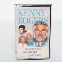 Kenny Rogers Duets w/ Kim Carnes, Sheena Easton, Dottie West Cassette Tape