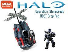 Halo Mega Construx Operation Stonebreak Drop Pod Covert Ops ODST SMG