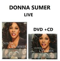 Donna Summer DVD + CD Live Brand New Sealed Rare