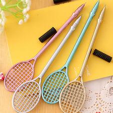 Creative Kawaii 0.38mm Badminton Rackets Shape Pen Decoration Stationery Gift