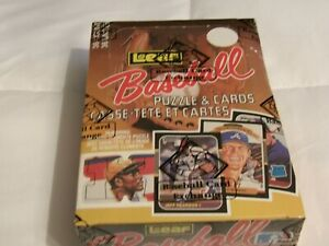 1987 Leaf  Donruss Baseball BBCE Certified Wax Box 36 Packs Clean Box Maddux RC