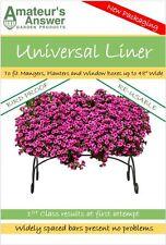 "Plantador Universal, Valle, del pesebre & Caja de la ventana Liner-macetas hasta 48"" de ancho"
