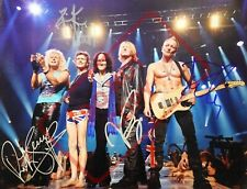 8.5x11 Autographed Signed Reprint RP Photo Def Leppard Group