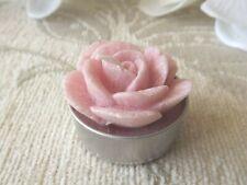 Broste Copenhagen Set of 6 Rose Tea light Candles - Pink