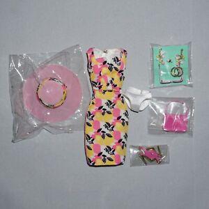 IT Poppy Parker Pink Lemonade Palm Spring Dress Hat Accessories Shoes Heels