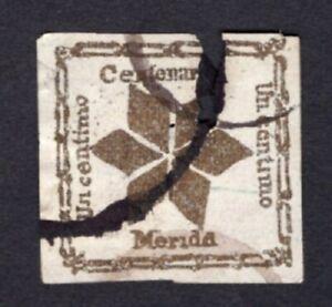 Venezuela Merida 19?? stamp Mi#? used  RARE! R!R!R!