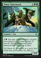 1x TEMUR SABERTOOTH - Cat - Fate Reforged - MTG - NM - Magic the Gathering