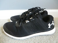 Under Armour Fuse FST #3019879 Women's Black&White Walking/Running Shoes Size 7
