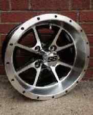 """Set of (4) 12"""" HD Aluminum Golf Cart Car Rim Wheels"""