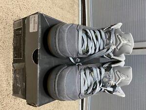 Nike Air Jordan Retro 5 Wolf Grey GS sz 5.5