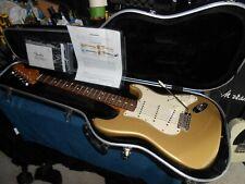 2003 Fender 60's Vintage Player Stratocaster / OHSC Aztec Gold , only 250 made