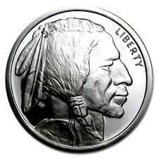 5 TROY OUNCE .999 FINE SILVER BULLION BUFFALO BU + (3) 99.9% 24K GOLD $100 BILLS