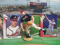 1993  GREG MADDUX - Starting Lineup EXT Baseball Figure & Cards - ATLANTA BRAVES