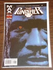 PUNISHER #8 VOL5 MARVEL MAX COMICS AUGUST 2004