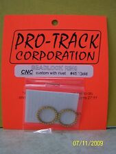 ProTrack Custom Gold Beadlock Rings for Protrack tires