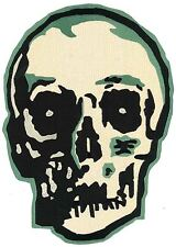 Skull BACK PATCH Punk Rock Goth Gothic Biker Hot Topic Lip Service Heavy Red Emo