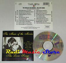 CD MUSIC OF MOVIES LOVE SONGS top gun footlose buster ghost lp mc dvd vhs