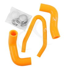NEW Orange Silicone Radiator Hose Kit for Kawasaki NINJA 650R ER-6F ER-6N 04-08