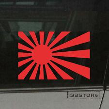 Japanese Rising Sun Flag Car Vinyl Decal Sticker Variant flag Japan Naval Ensign