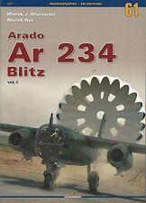 Kagero Monograph 61: Arado Ar 234 Blitz, Volume 1