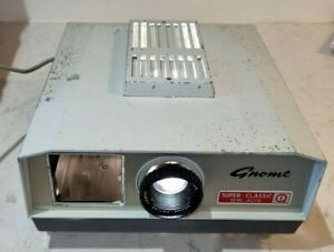 Vintage Working Gnome 772 Super Classic Slide Projector - Made in Cardiff 1966