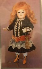 "8.25""ANTIQUE FRENCH ALL BISQUE MIGNONETTE  DOLL GERMAN KESTNER  WARDROBE PATTERN"