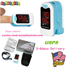 Fingertip Pulse Oximeter Blood Oxygen Meter SPO2 O2 Monitor Pulse Rate Sensor,ce
