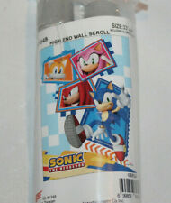"SEGA Sonic the Hedgehog 33""x44"" High End Wall Scroll banner GE81348 NEW"