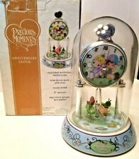 PRECIOUS MOMENTS ANNIVERSARY DOME CLOCK THE WORLD IS A BETTER PLACE WITH FRIENDS