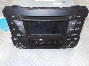 HYUNDAI I40 RADIO/CD/AUX PLAYER, VF, 09/11-05/15