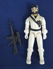 Vintage Hasbro 1985 GI Joe FROSTBITE Snow Cat Driver v1 Series 4 Action Figure