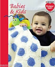 Knit & Crochet Pattern Book BABIES & KIDS ~ 13 Designs