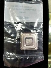 Geiger Edelmetalle 1 Troy oz Fine Silver Square Bar .999 Of Perfection!