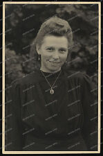 Foto-AK-Portrait-Frau-Cute-Woman-Suhl-1942-