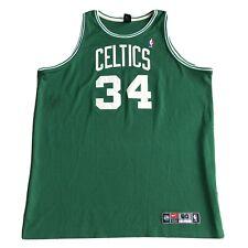 Authentic Nike NBA Boston Celtics Pierce Jersey Green 60Dri-FIT 4XL Basketball