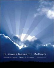 Business Research Methods by Donald R. Cooper and Pamela S. Schindler (2005, Ot…