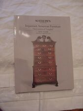 1985 SOTHEBY'S AUCTION CATALOG, AMERICAN FURNITURE & CONTENTS OF LANGDON #77440