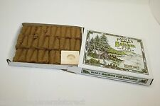 INCENSE & BURNER comes w/ 32 balsam fir cones Paine's wood holder lodge style