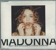 MADONNA - DROWNED WORLD (SUBSTITUTE FOR LOVE) 1998 GERMAN CD SINGLE WB WO453CD2