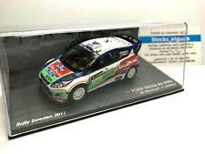 IXO ALTAYA 1/43 FORD FIESTA RS WRC M.HIRVONEN J.LEHTINEN RALLY SWEDEN 2011