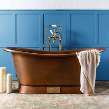 Witt & Berg Copper Bateau Bathtub - Antique Copper