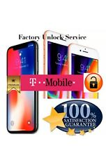 T-Mobile iPhone 8/8+ PREMIUM Permanent FACTORY UNLOCK SERVICE ALL IMEI Supported