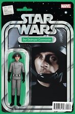 STAR WARS #9 (2015) - [Marvel] * Star Destroyer CDR Action Figure Variant * NM