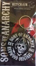 SONS OF ANARCHY REDWOOD ORIGINAL RUBBER KEYRING NEW OFFICIAL MERCHANDISE PYRAMID