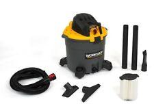 Workshop Ws1600Va Wet/ Dry 6.5 Peak Hp, 16 Gal. High Capacity Vac - Black Il