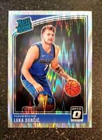 2018-19 Luka Doncic Donruss Optic Shock Prizm Mavericks Rookie #177