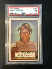 1952 Topps #357 Smoky Burgess Phillies PSA 7 High Number Set Break
